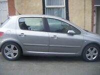 Peugeot 307 1.6 16v SE 5dr (a/c)