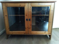 TV Cabinet - Solid Pine Wood Cabinet