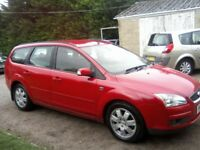 FORD FOCUS 1-8 TDCI GHIA TURBO DIESEL 5-DOOR ESTATE 2007 (57 PLATE) 144k MILES WITH SERVICE HISTORY.