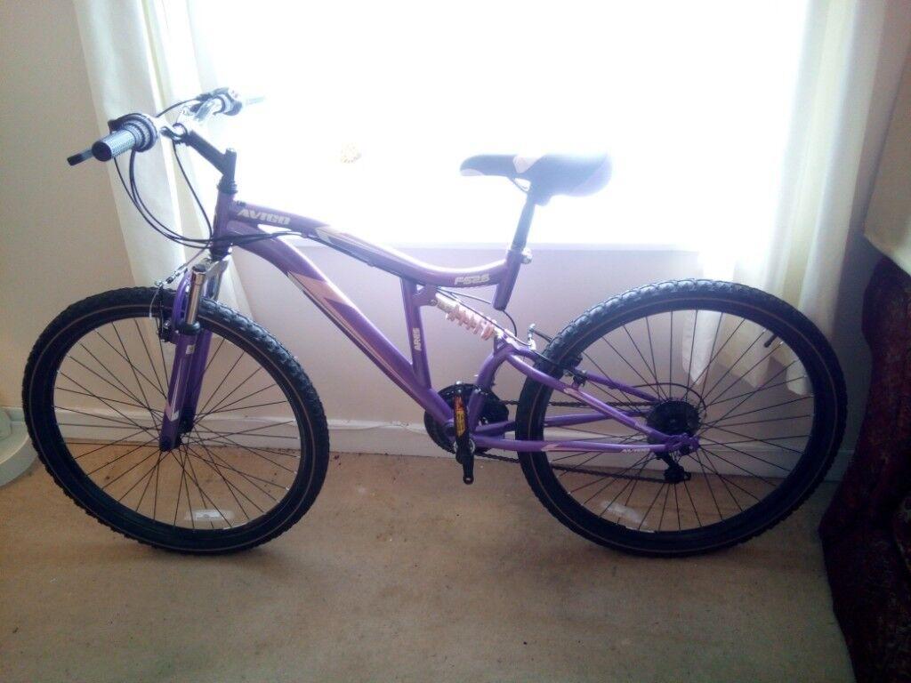 Avigo Ladies Mountain Front Hydro Bike 16 Inch Ex Display Purple