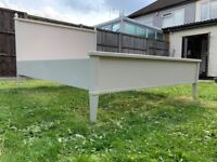 Laura Ashley Eleanor Grey 4ft6 Double Size Bed Frame – Great Condition