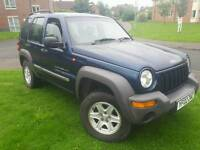 JEEP CHEROKEE SPORT 2.4 2002 LOW MILEAGE