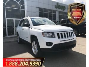 2015 Jeep Compass Sport| 4X4| CD Player| Cloth