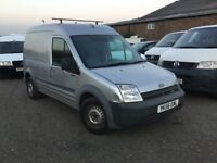 2006 FORD TRANSIT LONG WHEELBASE HIGHTOP CONNECT ELECTRIC WINDOWS NEW INJECTORS SIDE LOADER NICE VAN