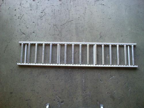 shelf track unex model 97 rollers conveyer material