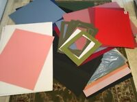 Craft card/paper and mounting board