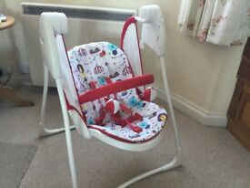 Graco Swinging Baby Lounger