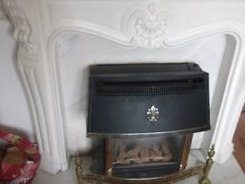 gas fire spares or repair and plaster fire surround