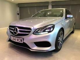 MERCEDES-BENZ E CLASS 3.0 E350 BLUETEC AMG SPORT 4d 249 BHP FREE DELIVERY TO YOUR DOOR (silver) 2015
