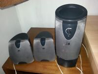 A Set of JS speakers