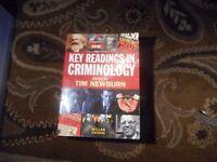 Key Readings in Criminology, Tim Newburn