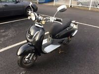2011 50cc Lambretta Style Moped Scooter