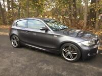 Bmw 120d M Sport 2008 -08 FSH Leather Climate Finance * Any Inspection