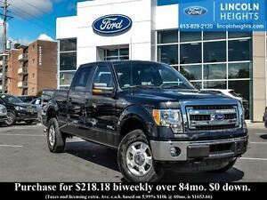 2014 Ford F-150 XLT SUPERCREW 6.5ft. Bed 4WD - KEYLESS ENTRY - M
