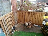 2 spare fence panels rrp £30 each