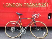 Peugeot Premiere Carbolite Vintage road bike racer 55cm - Black