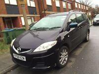 car for sale ,mazda 5 ,7 seater ,pco badge start 5 august,excelent condition.