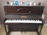 Henry Ward Upright Piano