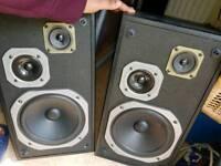Pioneer 3way speakers