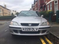 Honda Civic Sport - 1 Mature Lady Owner 69K miles - Ideal First or Cheap Car