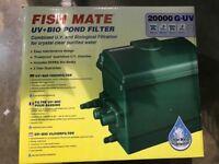 Fish Mate G-UV 20000 Pond Filter BNIB (4 available)