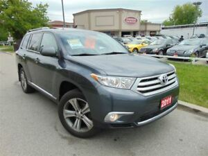 2011 Toyota Highlander SPORT-LEATHER-ROOF-7PSNGR-CAMERA