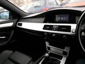 Black BMW e60 prestigious 520d msport