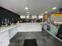 Takeaway Fast Food Business For Sale - Prime Location - High Turnover - Free Parking