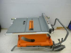 RIDGID Table Saw with Stand - We Buy And Sell Power Tools - 118053 - AL423411