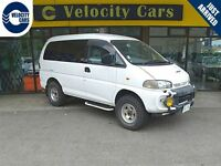 1998 Mitsubishi Delica Highroof 4WD 99K's
