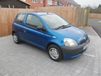 TOYOTA YARIS !!! ONLY 62 000 MILES !!!