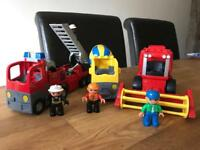 Selection of Lego Duplo vehicles