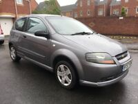 2007 Chevrolet Kalos 1.2 Manual, 10 Months MOT, Service History. Drives Greatly