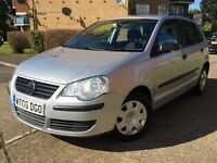 VOLKSWAGEN POLO 1.2**LADY OWNER**64K**RECENTLY SERVICED**LONG MOT**HPI CLEAR**