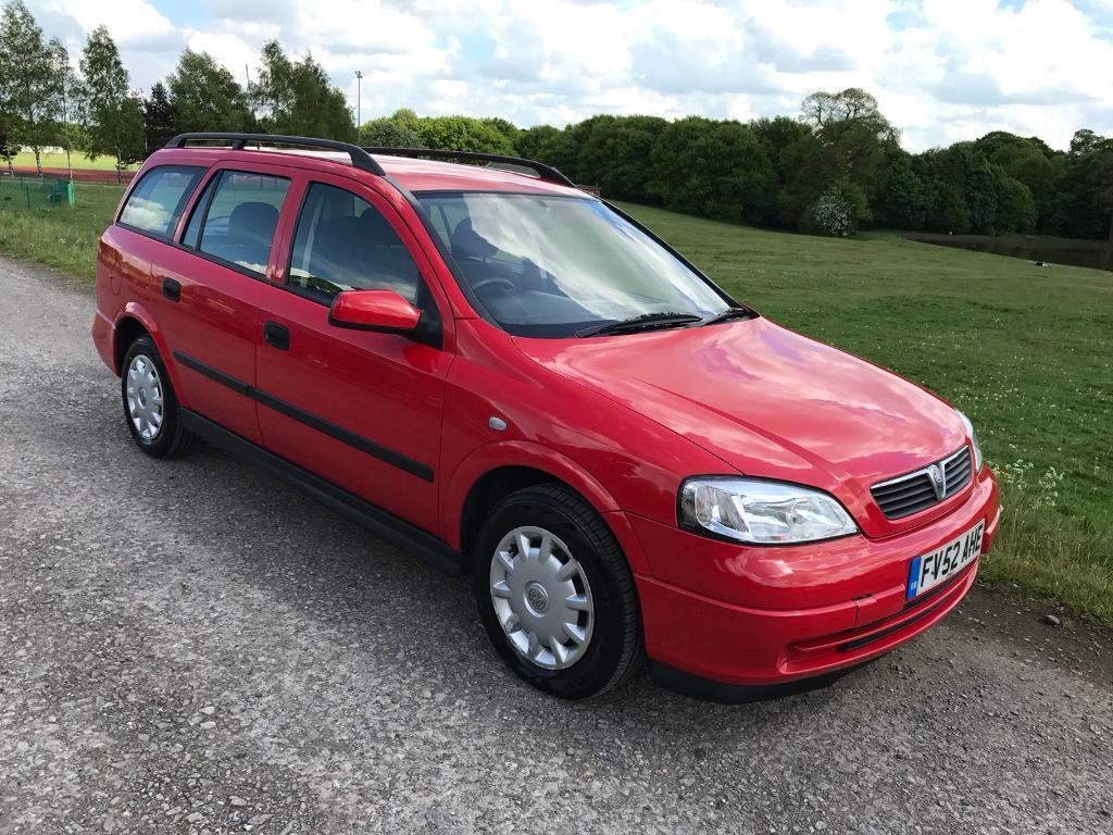 2003/52 VAUXHALL ASTRA 1.7 DTI 16vENVOY ESTATE ONLY 83K