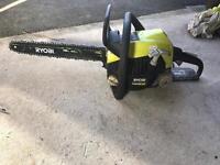 "Ryobi 42cc 16"" 40cm bar chainsaw"