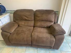 Two Seater Electric Recliner Sofa - Delivery Available