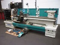 600 GROUP DALIAN MODEL 560 X 2000 GAP BED CENTRE LATHE DRO YEAR 2007