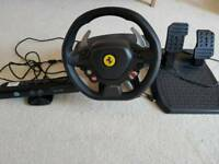 Xbox 360 bundle Inc. Steering wheel Kinect sensor lots of games and 2 controllers
