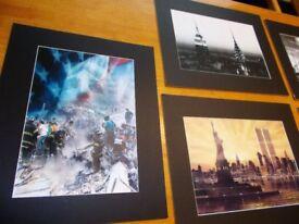 5 x New York Prints…