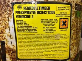 Wood timber preservative.