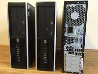 POWERFUL HP 8000 Dual Core 3.20Ghz - 4GB Ram - 250 GB - Wifi - Office - Desktop PC Computer
