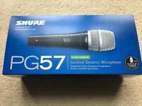 Shure PG57 Cardioid Dynamic Microphone