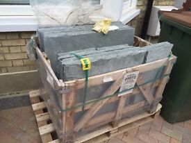 Beautiful light grey limestone paving pack (11m2) from Bradstone - best offer, buyer collects