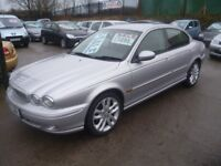 Jaguar X-TYPE Auto,4 dr saloon,half black leather interior,nice clean tidy car,runs and drives well