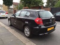 BMW 116i ES 5 door hatchback BLACK