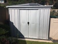 Metal Shed from screwfix