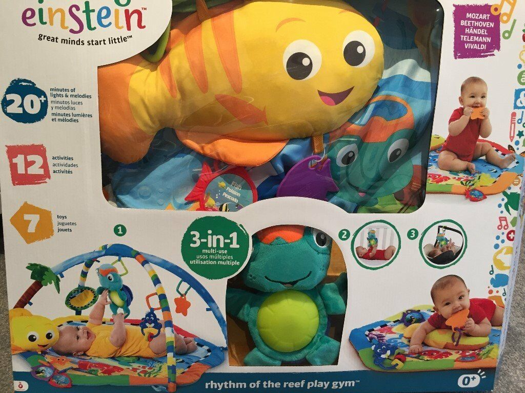 Brand new - baby Einstein 'rhythm of the reef' playmat
