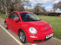 Volkswagen Beetle 1.6 Luna 3dr Salsa Red