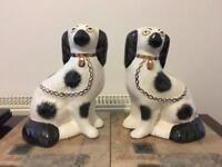 Genuine Staffordshire Wally Dogs